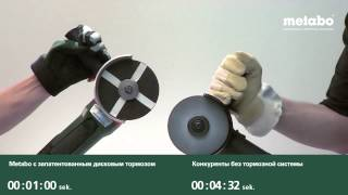 Запатентованный дисковый тормоз METABO
