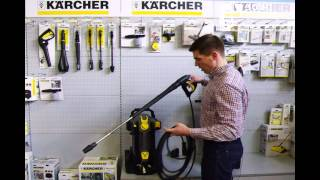 Kärcher aukšto slėgio plovykla HD 5/12 C