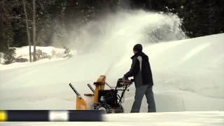 CUB CADET sniega frēzes - ātrai un efektīvai sniega tīrīšanai