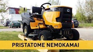 Vejos traktoriaus paruošimas darbui