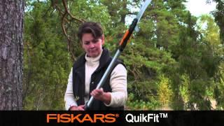 Fiskars QuikFit Telescopic Sha