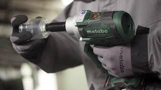 Metabo akumuliatorinis kniedžių pistoletas NP 18 LTX BL 5.0