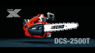 ECHO DCS-2500T pjūklas su viršutine rankena