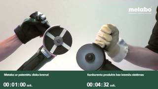 Patentētā METABO diska bremze