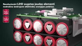 Metabo LiHD akumulatoru bloku tehnoloģijā