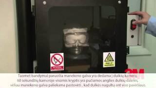 3M Lexa apsauginiai akiniai - kaukė