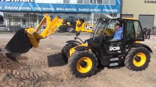 Renginys JCB klientams ir sunkioji technika