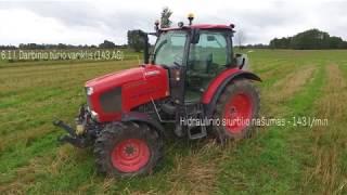 Kubota traktorius M135GX-II