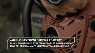 Variklio užvedimo sistema ES-START