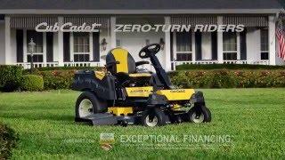 Cub Cadet Zero Turn mauriņa traktori