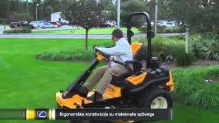 Komunalinis vejos traktoriukas Cub Cadet TANK SZ