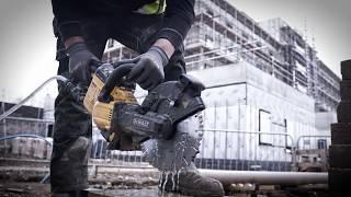 Naujasis betono pjovimo įrankis DeWALT DCS690!