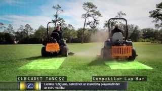 Mauriņa traktors CUB CADET TANK SZ 60