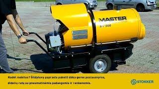 Netiesioginio degimo dyzelinis šildytuvas BV 500-13C, 150 kW, Master