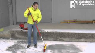 Wolf Garteni lumetõrjevahendid töös