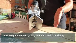 Metabo - briaunų frezavimo įrankis KFM 15 10 F 45