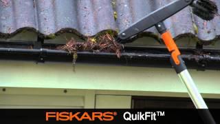 Fiskars QuikFit Gutter Cleaner