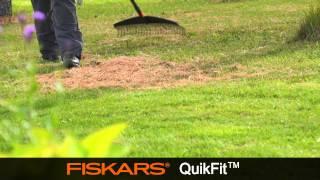 Fiskars QuikFit Leaf Rake L 13