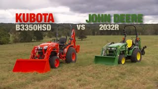 Kubota B3350 Tractor Advantage Video