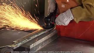 Juodo metalo apdirbimas su 3M Cubitron II produktais