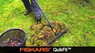 Fiskars QuikFit Gather Rake 13