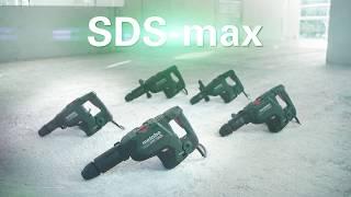 """Naujieji """"SDS-max"""" perforatoriai. Galingas. Tvirtas. Be šepetėlių."""