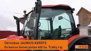 Traktorius Kubota M110GX