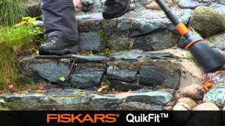 Fiskars QuikFit Sweeping Broom